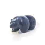 bears Canadian soapstone carving polar bear